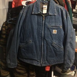 Rare vintage denim Detroit jacket